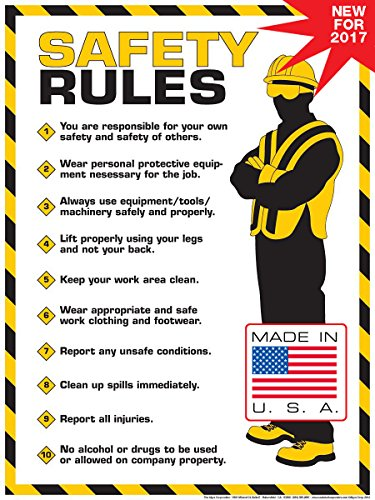 Safety Training Signs & Posters Industrial & Scientific COVID-19 ...
