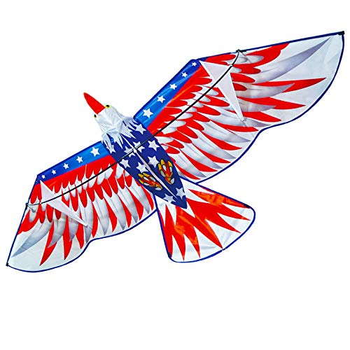 ZHUOYUE Huge Bald Eagle Kites 78 inch Large 3D Bird Kite Easy...