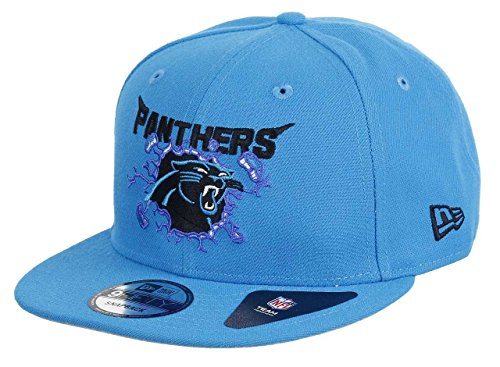 New Era Carolina Panthers 9fifty Snapback Crusher Blue - One-Size