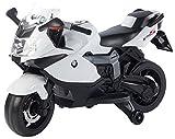 Playtastic Elektro Motorrad: Original BMW-Lizenziertes elektrisches Kindermotorrad BMW K1300 S (Motorrad Kinder)