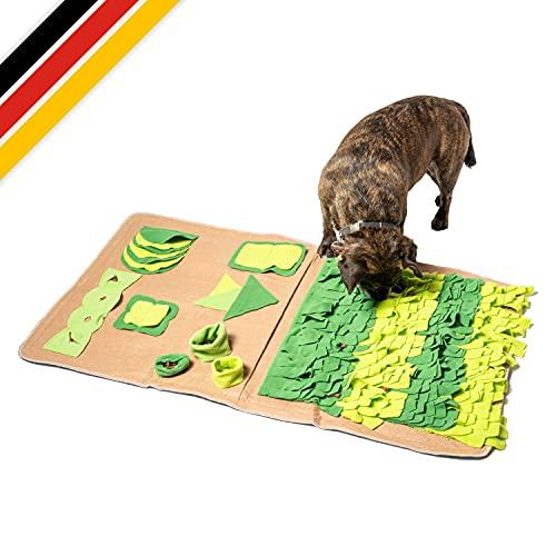 ALOY NATUR Alfombra para perros – promueve el desarrollo cognitivo – Alfombra para perros – Ayuda a aliviar el estrés – Alfombra de olfato perro XXL – Juguete de entretenimiento para tu perro