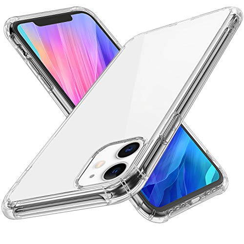 Krichit Phone Protective Case, Clear Series Case Compatible for iPhone 11 Pro MAX Case