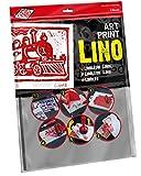 Educational Arts para Artes Marciales scim 3,2/L5 400 x 300 x 3,2 mm de linóleo Printing, 2 Unidades