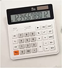 $37 » bjyx Basic Office Calculator Dual Power Electronic Calculator Portable Large LED Display Desktop Calculator Suitable for S...