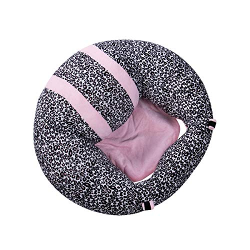 Lanrui Comfortable Kids Baby Support Seat Sit Up Soft Chair Cushion Sofa Plush Pillow Toy Bean Bag Colorful Babe Chairs (Color : Dark spots)
