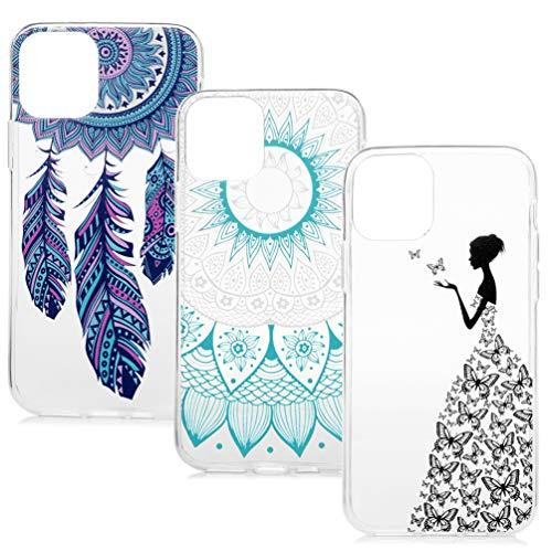 Vogu'SaNa Kompatible für Handyhülle iPhone 11 Pro Hülle Silikon Case Cover Handytasche Transparent Tasche Dünn Durchsichtige Schutzhülle Skin Softcase Schale Bumper TPU Handycover*3 Fall-6