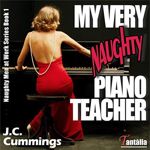 My Very Naughty Piano Teacher  audiobook cover art