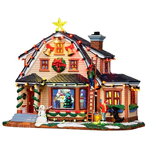 Lemax Christmas - Decorating The House with 4.5V Adaptor (15247UK)
