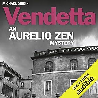 Aurelio Zen: Vendetta cover art