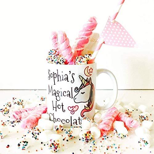 Unicorn Hot Chocolate Mug | Personalized Hot Chocolate Mugs | Unicorn Party | Magical Unicorn Hot Chocolate Mug