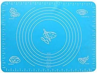 Tapis De Cuisson Tapis De Cuisson En Silicone Antiadhésif Bleu Feuille De Cuisson En Fibre De Verre Tapis De Pâte À Rouler...