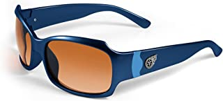 NFL Tennessee Titans Bombshell Sunglasses with Bag, Blue/Light Blue