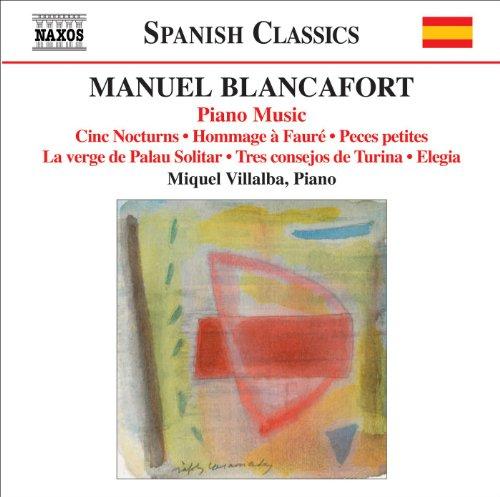 Blancafort, M.: Piano Music, Vol. 5