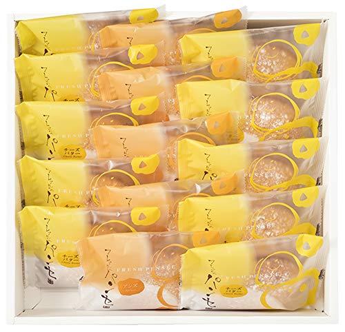 十勝たちばな フレッシュパンセM ブッセ 15個入(チーズバター10個、アンズジャム5個)