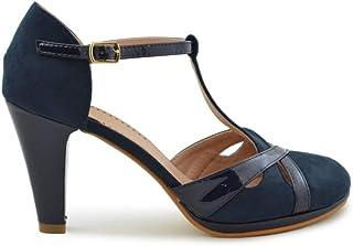 86916888 Amazon.es: zapato salon azul mujer: Zapatos y complementos