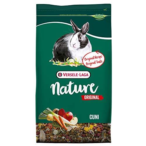 Versele Laga - Mangime per roditori Nature CUNI, originale, per conigli nani, 2,5 kg