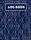 Log Book: Daily Multipurpose Record Book Note, Communication Management Log book Template Sheets Organizer,...