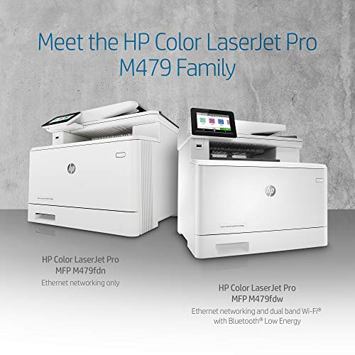 HP Color LaserJet Pro Multifunction M479fdn Laser Printer with One-Year, Next-Business Day, Onsite Warranty, Works with Alexa (W1A79A) – Built-in Ethernet Photo #6
