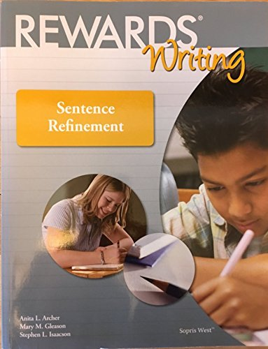 Rewards Writing Sentence Refinement Student Book