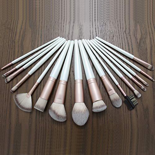 Maquillage Brush Contour Brush 16 Maquillage Brush Set Nouveau Groove Maquillage Outils Cosmétiques Beauté Maquillage Blanc