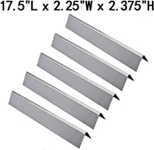 GasSaf Set of 5 Stainless Steel Flavorizer Bars Replacement for Weber Genesis 300,E310,S310,E330,EP310,EP320,EP330,S310,S330 Series Grill(17.5