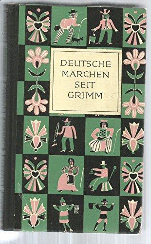 Deutsche Märchen seit Grimm.