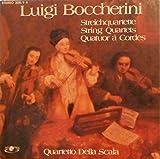 Luigi Boccherini, Streichquartette, Quartetto Della Scala [4LPs VINYL-BOX]