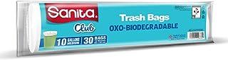 Sanita Club Trash Bags , 10 Gallons , 30 Pieces, PR23BO1001R13