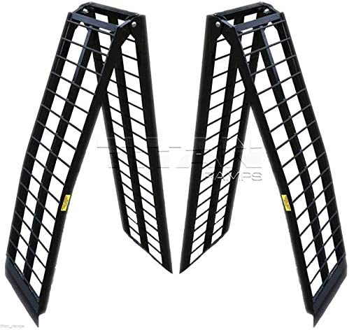 Titan Ramps 10 ft HD Aluminum UTV Wide Loading Ramps Ranger Rhino Gator ATV product image