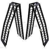 Titan Ramps Folding Arch Ramps 10' Pair UTV Heavy Duty 3,000 lb. Capacity