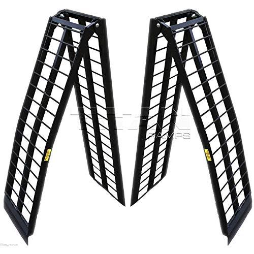 Titan Ramps 10 ft HD Aluminum UTV Wide Loading Ramps