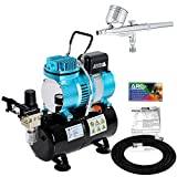 G22 Master Performance Airbrushing System Kit with Master TC-20T Compressor with Air Tank