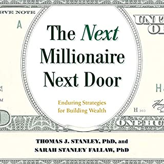 The Next Millionaire Next Door audiobook cover art