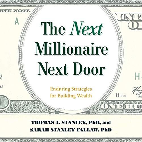 The Next Millionaire Next Door audiobook cover art