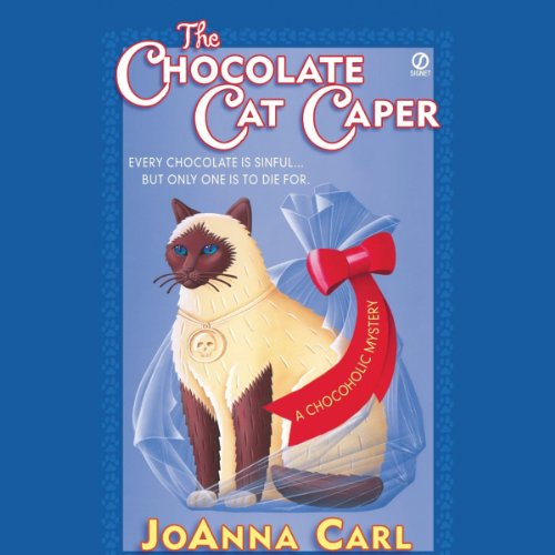 The Chocolate Cat Caper audiobook cover art