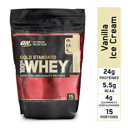 Optimum Nutrition 100 Whey Gold Standard Vanilla Ice Cream