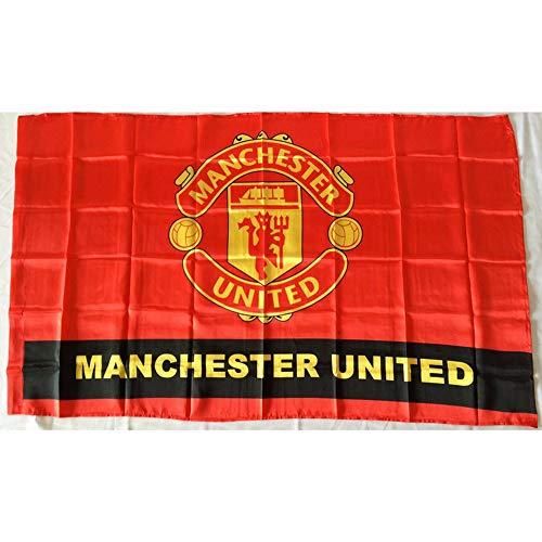 RBTT para el Manchester United Equipo Bandera Banderas No. 4 Ventiladores de...