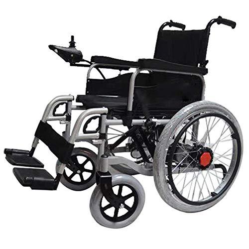 MJ-Brand Silla de Ruedas eléctrica para Subir escaleras Controlador Universal Inteligente Plegable portátil, Subir y Bajar escaleras, Scooter pequeño para Ancianos y discapacitados Fácil de operar