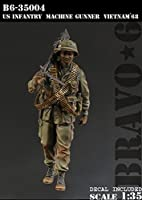 Bravo6 B6-35004 1/35 米 歩兵機関銃手ベトナム'68
