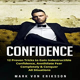 Confidence audiobook cover art