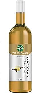The Tea Planet - Vanilla Cream Syrup to Coffee, Tea, and Specialty Cocktails, Non - GMO, Gluten-Free, Vegan (700 ml )