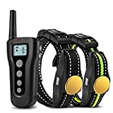 Bousnic Dog Training Collar 2 Dogs Upgraded 1000ft Remote Rechargeable...