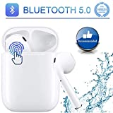 Wireless Earbuds Bluetooth 5.0 Headphones in-Ear Earphones with 4 Microphones 28H 3D Stereo