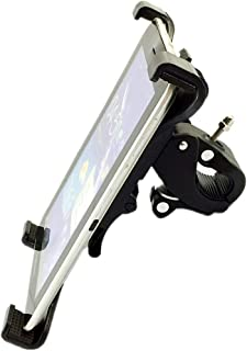 Universal Tablet Holder for Stationary Bicycle, Treadmill, Elliptical, Spin Bike, Microphone Stand, and Indoor Exercise Equipment - Holder for Apple iPad,iPad Mini,iPad Air,iPad Pro/Samsung Tab