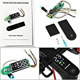 AngeliaSky M365 Circuit for Xiaomi M365 Circuit Board and Clear Screen Cover for Xiaomi Electric Scooter Mijia M365/ M365 Pro Scooter Dashboard with Installation Instruction(2022 Version)