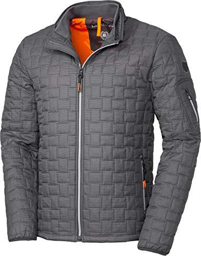 LERROS Herren Steppjacke, wetterfeste Jacke für Männer, Outdoor-Kleidung mit Wattierung, warmes Innenfutter, Stehkragen & Reißverschluss, in Anthrazit