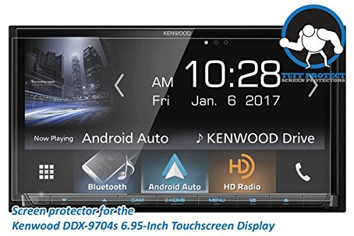 Tuff Protect Anti-Glare Screen Protectors for Kenwood DDX9704s Car Indash DVD Receiver