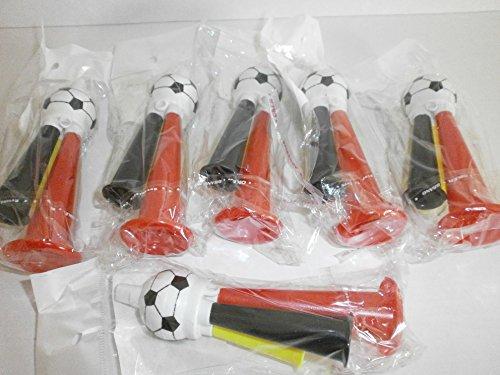 Schnooridoo 6 x Deutschland Fanfare Tröte EM WM Fußball Eishockey Give Away Tombola