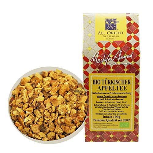 All Orient BIO Türkischer Apfeltee | 100g | Früchtetee | loser Tee | ohne Zusatz von Aromen | ohne Teein | BIO-Qualität | naturbelassen | säurearm | Früchtetee mit lieblich-fruchtigem Geschmack