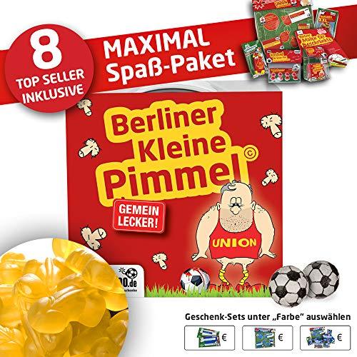 Union Trainingshose ist jetzt KLEINE PIMMEL Set 2: MAXIMAL-Spass-Paket by Ligakakao.de rot-gelb Herren Macron Jogging lauf-Hose Trainingsanzug